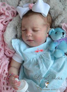"New! Realborn ~ Sleeping Baby Brittany ~ 20"" Reborn Vinyl Doll Parts Kit 6798   Dolls & Bears, Dolls, Reborn   eBay!"
