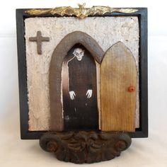 Gothic Art - Nosferatu - Vampire Art - Gothic Decor