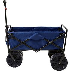 Mac Sports Heavy Duty Collapsible Folding All Terrain Utility Wagon Beach  Cart 7156f7f3b