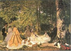 off Hand made oil painting reproduction of Luncheon on the Grass one of the most famous paintings by Claude Oscar Monet. Claude Oscar Monet's oil painting Luncheon on the Grass 2 was painted in 1865 and is a study for a panel that . Pierre Auguste Renoir, Edouard Manet, Claude Monet, Monet Paintings, Landscape Paintings, Canvas Paintings, Landscapes, Artist Monet, Georges Seurat
