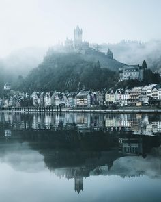 Mirror view in Cochem, #Germany  Photo by @philippheigel Share your stor