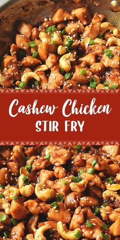Try This Ultimate Cashew Chicken Stir Fry Food Recipes Casseroles, Food Recipes Deserts Hamburger Meat Recipes, Grilled Chicken Recipes, Baked Chicken Recipes, Easy Dinner Recipes, Dinner Ideas, Dessert Recipes, Easy Recipes, Cooking Recipes, Healthy Recipes
