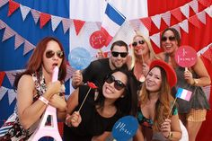 1801 L Street Bastille Day, Sacramento - Giggle and Riot Funbooth Photo Booth
