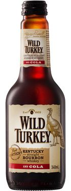 Wild Turkey Bourbon & Cola Bottle