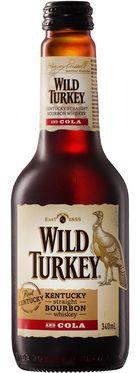 Wild Turkey Bourbon & Cola Bottle