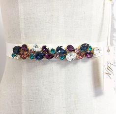 Hey, I found this really awesome Etsy listing at https://www.etsy.com/listing/252665279/simple-swarovski-crystal-bridal-belt