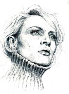 ballpoint drawing by fabrycat
