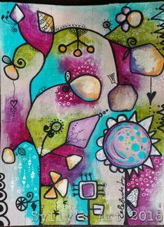 Sylly's Art 2015: Lifebook week 6 Seeds of love