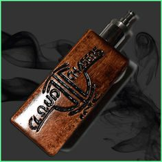 Authentic Cloud Chasers Inc. (CCI) Wood Box Mod PRE-ORDER – Advanced Vapors 808, LLC