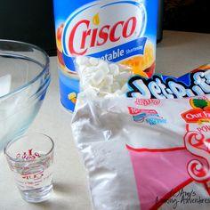 Amy's Confectionery Adventures: DIY Marshmallow Fondant (MM Fondant): Part I