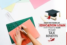 Have you taken a loan for self, for children, spouse or for a students of whom you are legal guardian? If you have taken a loan on your name or you are a co-borrower of the loan, then you are very much eligible to claim tax benefits on that education loan. Education loan can be taken to pursue your higher education in India or abroad. The loan amount depends upon the type of programme you are pursuing along with the reputation of the college or university. Education loan is not just a…