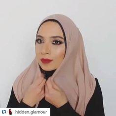@hidden.glamour @hidden.glamour @hidden.glamour @hidden.glamour  #HijabTutorial by @makeuphijabs