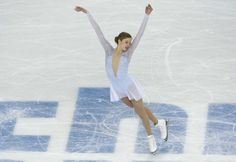 Feb 8, 2014; Sochi, RUSSIA; Carolina Kostner of Italy during her figure skating team ladies short program at the Sochi 2014 Olympic Winter G...