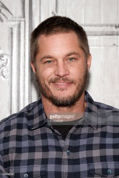Travis Fimmel attends the Build Series to discuss 'Vikings' at AOL HQ on November 28, 2016 in New York City.