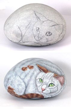 80 Creative DIY Home Decor Ideas with Pebbles and River Rocks That Will Find a Good Use for Y. 80 Creative DIY Home Decor Ideas with Pebbles and River Rocks That Will Find a Good Use for Your Stone Collection, Stone Art Painting, Rock Painting Designs, Pebble Painting, Pebble Art, Diy Painting, Pebble Stone, Garden Painting, Painted Rock Animals, Hand Painted Rocks