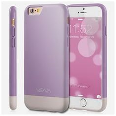 Vena Apple iPhone 6 Plus (5.5) [iSlide] Protective Slim Fit Rubber Coating PC Hard Case Cover (Lavender/Champagne Gold) (00840981113562) Vena iSlide is made out of polycarbonate (PC) with soft and smooth rubber coated exterior to provide exceptional grip to your Apple iPhone 6 Plus (5.5) while protecting it from dust, dings, and dents from everyday use. With the soft microfiber interior, Vena iSlide not only provides soft cushioning to your Apple iPhone 6 Plus (5.5), it also makes installing…