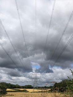 Team Gb, Norfolk, Utility Pole, Wind Turbine