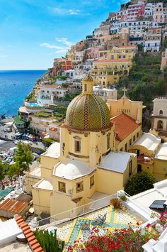 Church of Santa Maria Assunta in Positano Italy www.robbreport.com, province of Salerno Campania