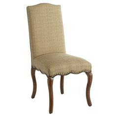 Claudine Dining Chair - Hemp