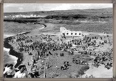 La Enramada - La Caleta año 1950..... #fotoscanariasantigua #tenerifesenderos #fotosdelpasado #canariasantigua #canaryislands #islascanarias #blancoynegro #recuerdosdelpasado #fotosdelrecuerdo
