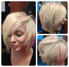 Another fabulous cut and color from our Fossil Creek location #SalonPurple