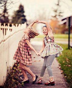 Dance between friends