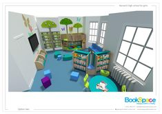 20 Best Themed primary school library design images in 2019