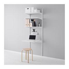 ALGOT Veggskinne/hyller IKEA Delene i ALGOT-serien kan kombineres på mange ulike måter og er derfor enkle å tilpasse etter behov og plass.