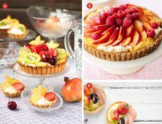 Desserts: Pretty & Tasty Fruit Tarts - Exquisite Weddings