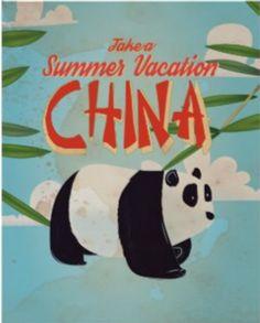 Vintage Travel Poster - China.