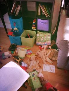 Make a Messy House Sane - Montessori Tips to Use at Home