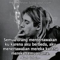 DP BBM Animasi Terbaru Versi Photoshop : Kurt Cobain 2 Quotes Lucu, Cinta Quotes, Reminder Quotes, Words Quotes, Life Quotes, Best Friendship Quotes, Best Quotes, Funny Quotes, Muslim Quotes