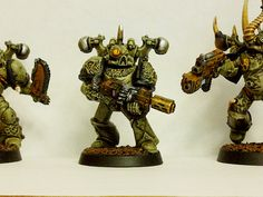 "A few more Plague Marines… Corporal ""Stink Eye"""