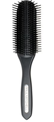 407 Styling Brush  Great for blow-drying    Rounded design and nylon bristles smooth and polish strands.  Gently grips hair without pulling.  Style wet to dry hair.