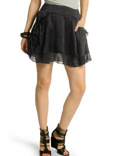 Karl Lagerfeld Silk Skirt