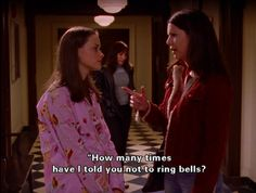 """""""How many times have I told you not to ring bells?"""""""