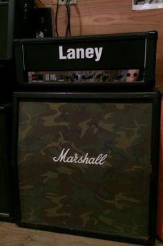 Laney GH100L Guitar Amp Head in GC Paul Gilbert Sabbath Marshall Orange