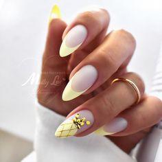 Latest Nail Designs, Latest Nail Art, Pineapple Nails, Vacation Nails, French Nail Designs, Mermaid Nails, Spring Nail Art, Chic Nails, Dipped Nails