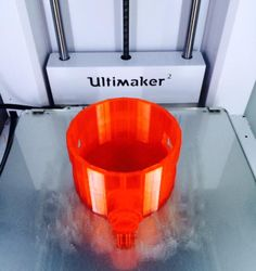 MagicStick designed in Morphi by @good55381 for a #physicalcomputing class #3Dprinted on @Ultimaker w/@ColorFabb