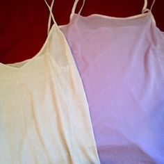 Sheer tank bundle sale Three sheet tanks, excellent condition. 12 for all three. Tops Tank Tops