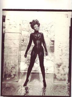 Pearl/Mugler corset, shot by Paul Steinitz. Incredible!