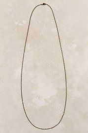 Anthropologie Collector's Necklace in Bronze (for charms)