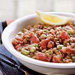 Lentil-Edamame Stew Recipe | MyRecipes.com