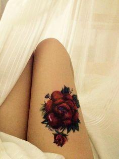 Rose tattoo, tatuaggio rosa