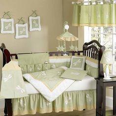 Dragonfly Dreams 9 Piece Crib Bedding Set