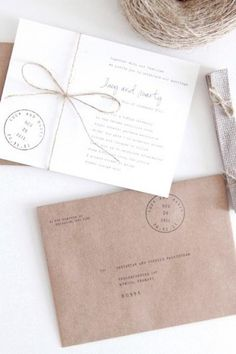 Invitation #rustic
