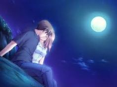 kisses anime 月明かり