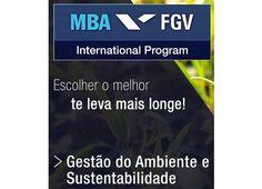 MBA FGV em Gestão do Ambiente e Sustentabilidade - últimas vagas ! | Made in Forest