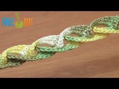 How to Crochet 3D Braid Lace Cord Tutorial 5 (+playlist)