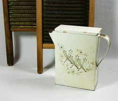 Vitage Laundry Detergent   Vintage Primitive Metal 1940's Laundry Detergent Washing Powder ...